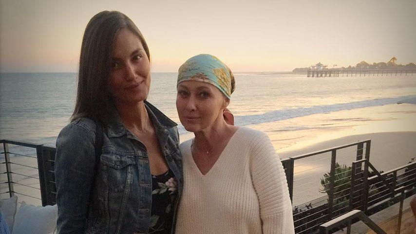 """Shannen Doherty mit einer Freundin vor dem Restaurant """"Nobu"""" in Malibu"""