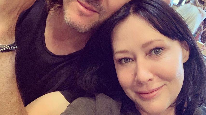 Shannen Doherty mit ihrem Mann Kurt im Jahr 2019
