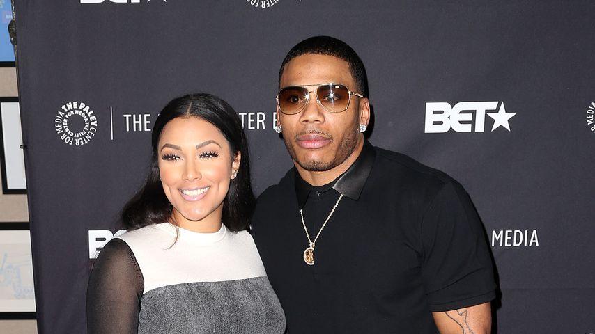 Shantel Jackson und Nelly im Oktober 2014 in Beverly Hills