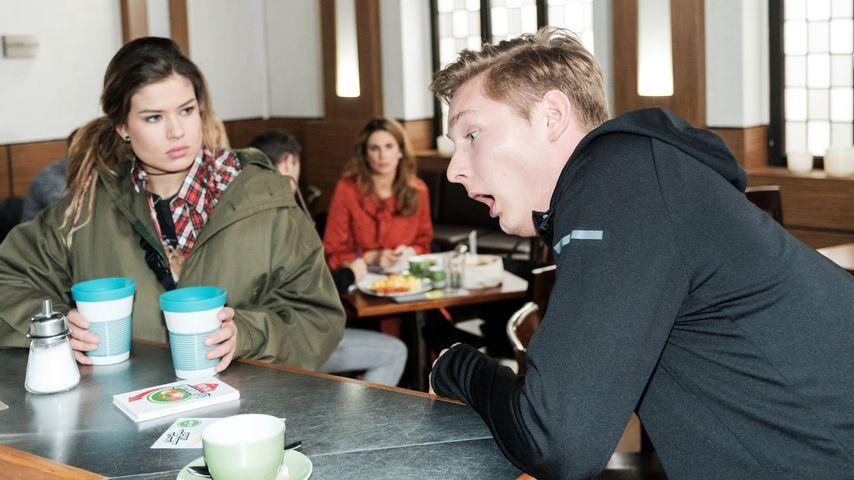 """Vivien Köhler (Sharon Berlinghoff) und Conor Weigel (Yannik Meyer) bei """"Unter uns"""""""