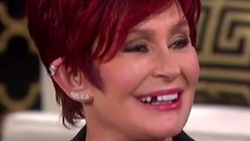 Ups! Sharon Osbourne verliert Zahn in Live-Show