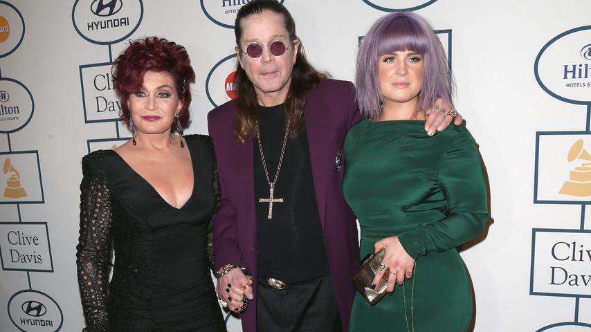 Sharon, Ozzy und Kelly Osbourne 2014 in Beverly Hills