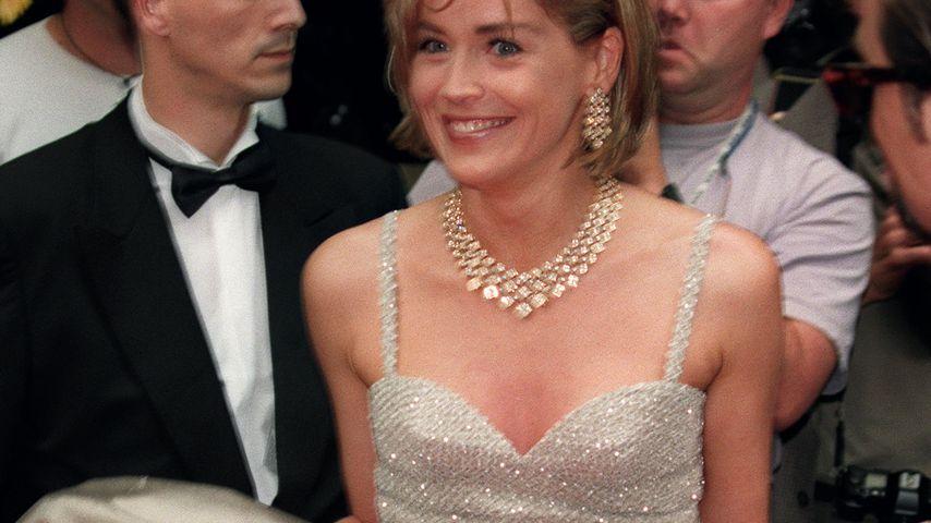 Sharon Stone beim Filmfestival in Cannes im Mai 1995