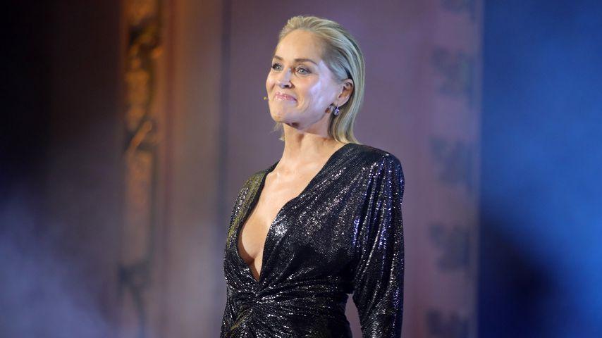 Sharon Stone in Berlin, November 2019