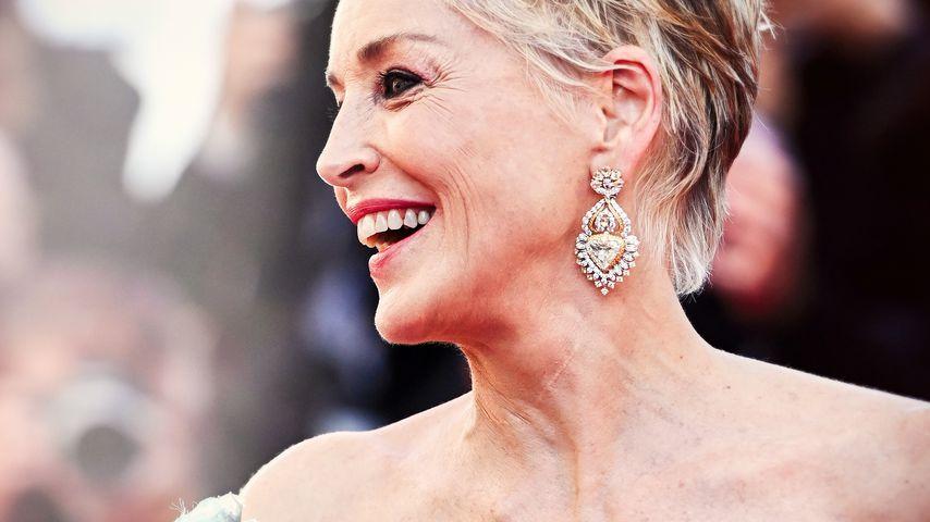Sharon Stone beim Filmfestival in Cannes im Juli 2021