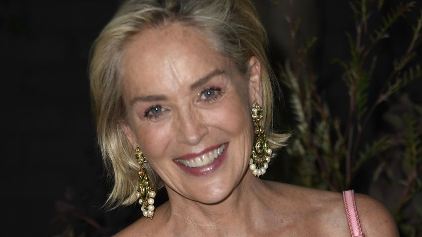 Sharon Stone im Juli 2019