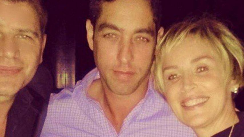 Sharon Stone kuschelt mit Sofia Vergaras Ex
