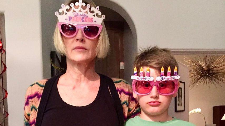 Sharon Stone und Sohn Laird