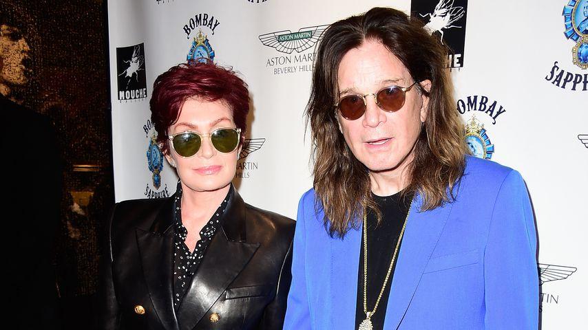 Sharon und Ozzy Osbourne in Beverly Hills, 2015