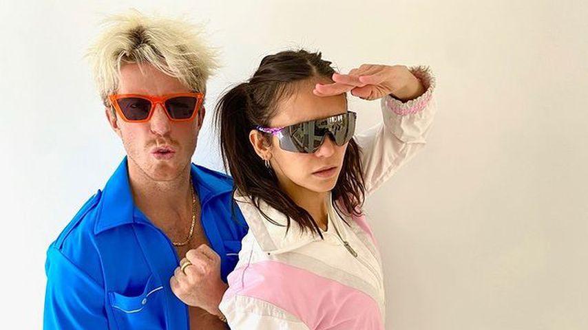 Shaun White und Nina Dobrev