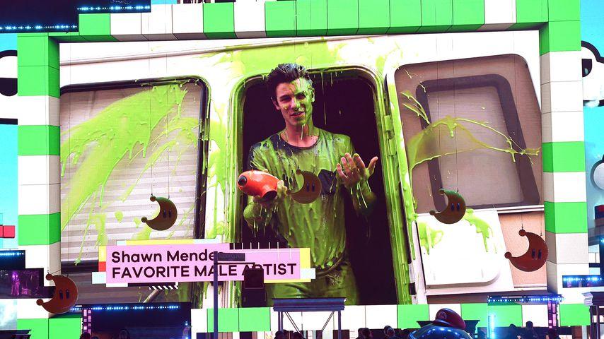 Shawn Mendes bei den Kids' Choice Awards 2018