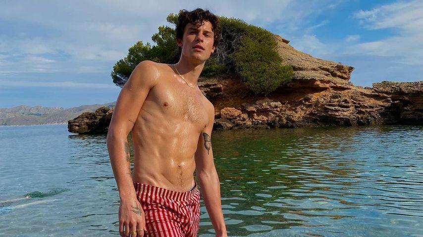 Auf Mallorca: Shawn Mendes entzückt Fans mit Hammer-Sixpack