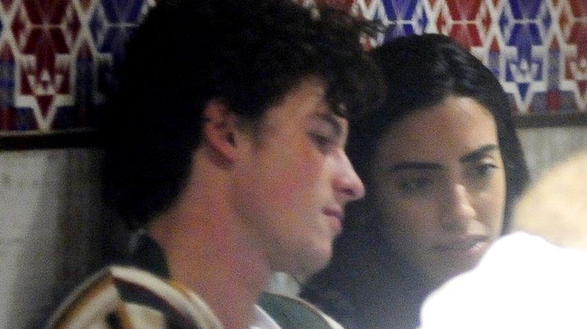 Nicht Camila! Mit wem tuschelt Shawn Mendes denn da?