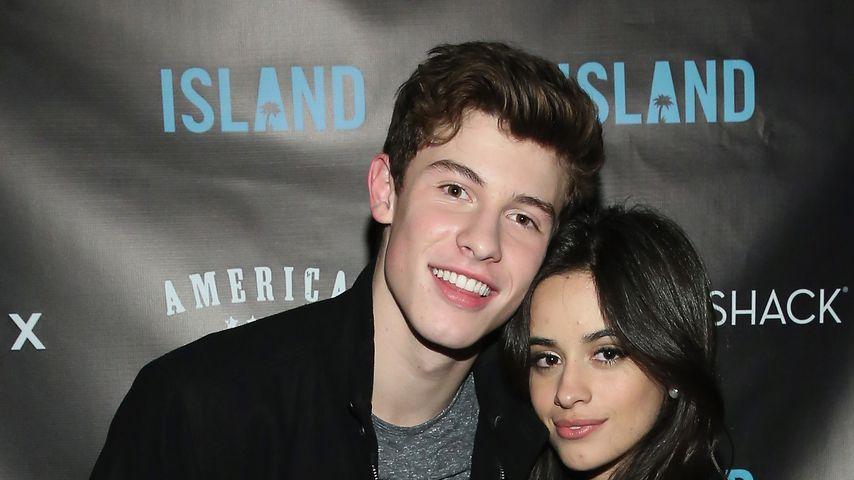 Shawn Mendes und Camila Cabello bei einer Veranstaltung 2015