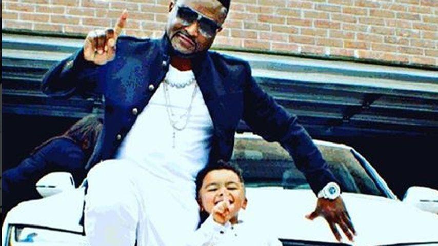 Shawty mit seinem Sohn