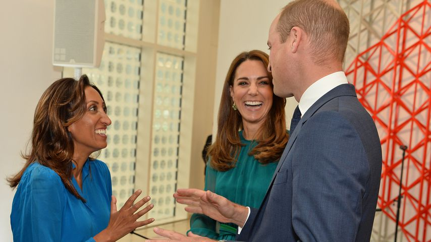 Shazia Mirza, Herzogin Kate und Prinz William