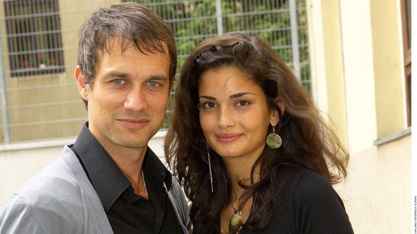 Shermine Sharivar und Ralf Bauer bei einer Modenschau in Wien