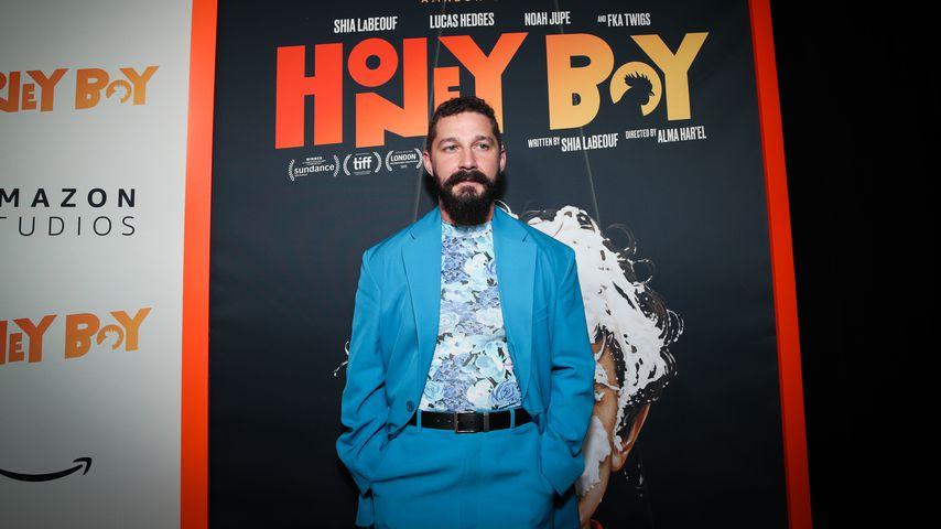 """Shia LaBeouf bei der Premiere von """"Honey Boy"""" 2019"""