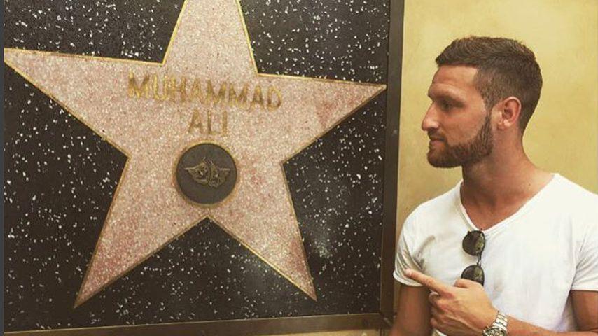Fußball-Weltmeister Shkodran Mustafi in L.A.