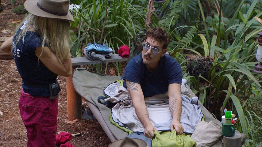 Sibylle Rauch und Chris Töpperwien im Dschungelcamp, Tag 6