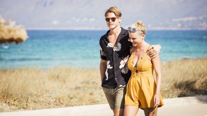 """""""Love Island""""-Sidney und Vivien am Strand"""