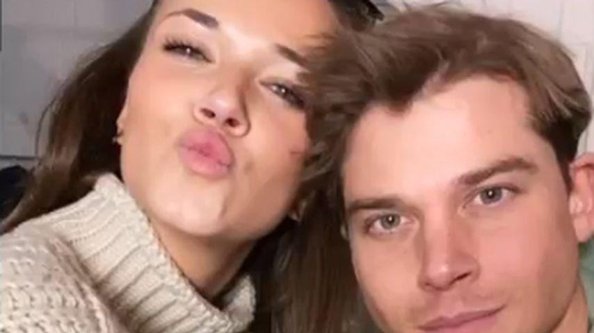 Sidney Wolf mit seiner Freundin, Juni 2020