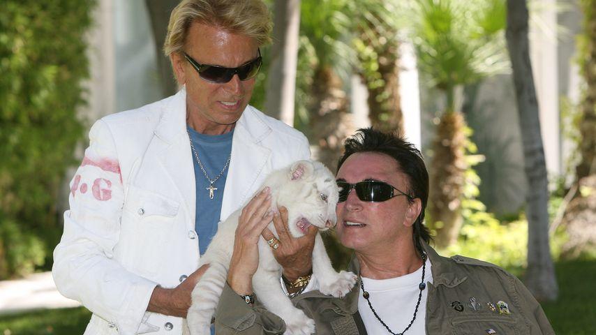Siegfried Fischbacher und Roy Horn 2008 in Las Vegas