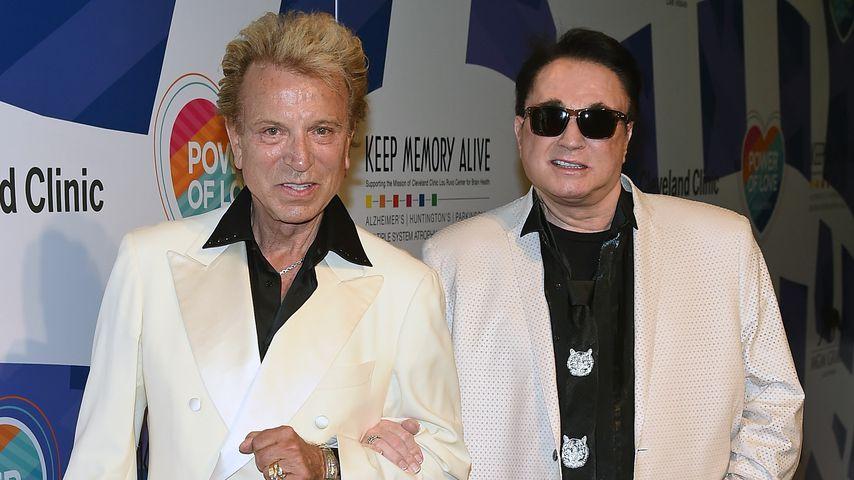 Siegfried Fischbacher und Roy Horn im Juni 2015
