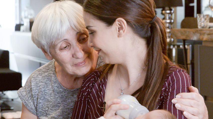 Sila Sahin mit ihrer Mutter Hanife