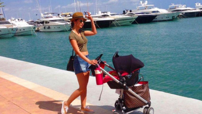 Nach Schwanger-Gerüchten: Sila Sahin posiert mit Kinderwagen
