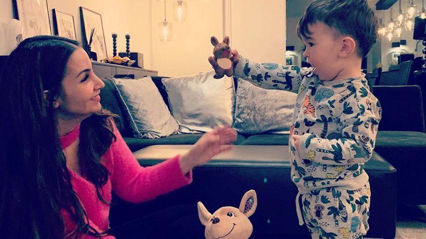 Sila Sahin mit ihrem Sohn, November 2019
