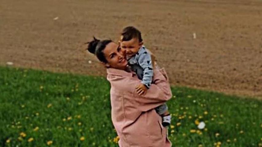 Sila Sahin und ihr Sohn Noah