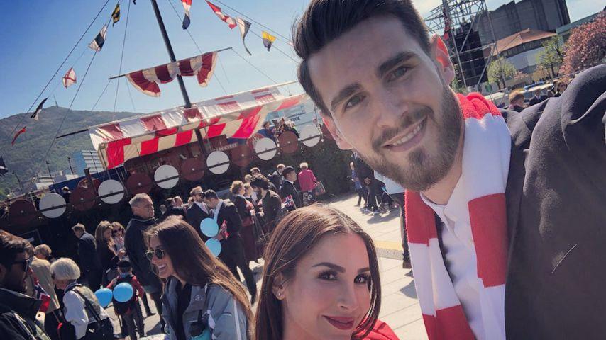 Mit XXL-Bauch: Sila & Samuel feiern Norwegens Nationaltag!
