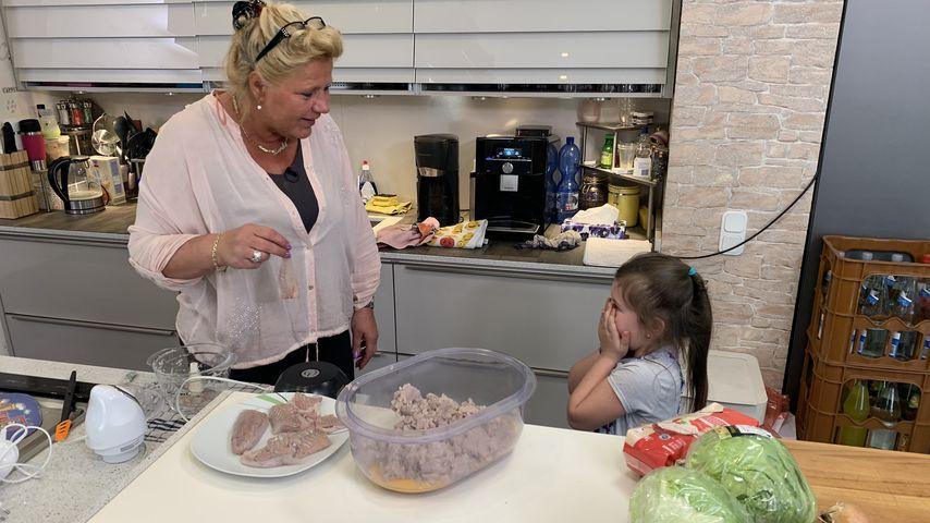 Silvia Wollny und Enkeltochter Celina-Sophie
