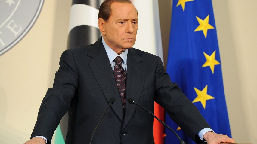Silvio Berlusconi, ehemaliger Ministerpräsident von Italien