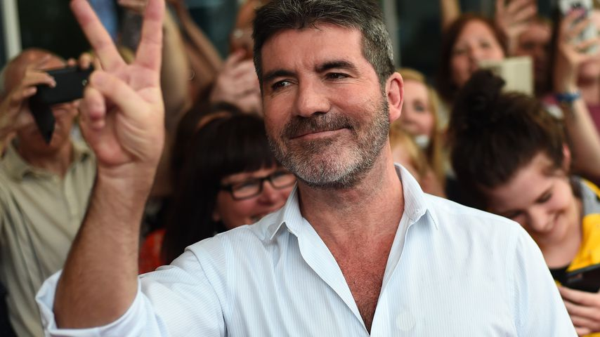Simon Cowell bei den X Factor Auditions in Leicester im Juni 2016