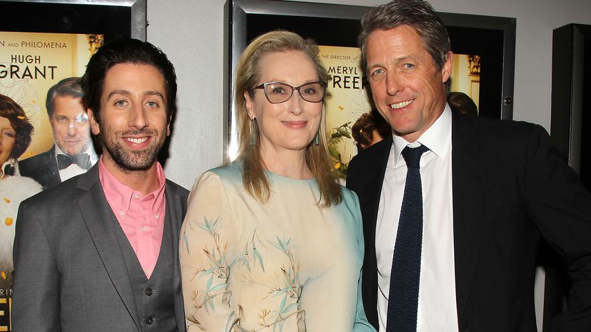 Simon Helberg, Meryl Streep und Hugh Grant