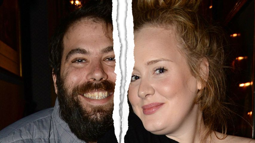 Aus dem Nichts! Adele nach sieben Jahren von Mann getrennt