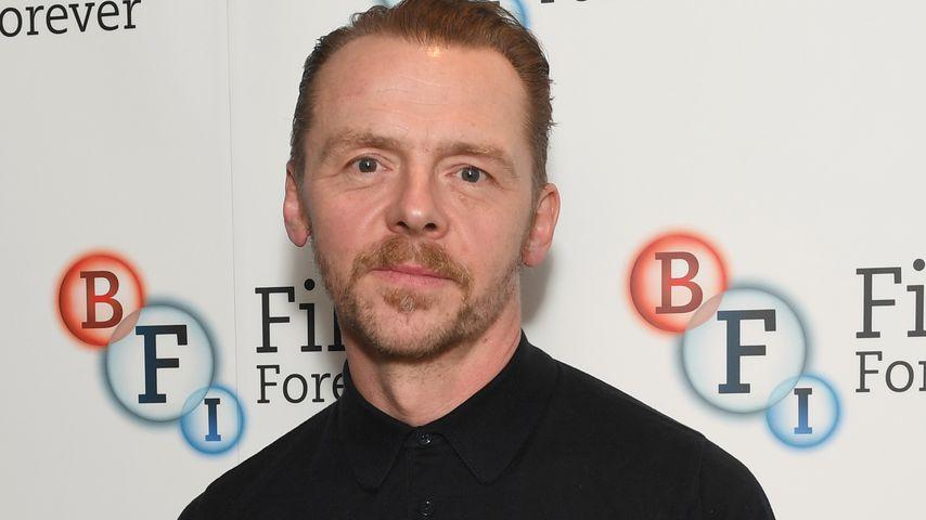 """Simon Pegg, """"Hot Fuzz""""-Darsteller"""