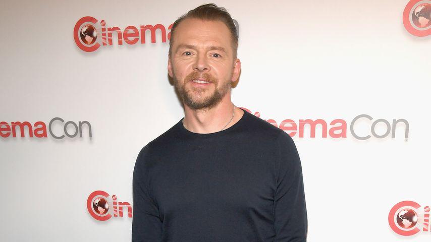 Simon Pegg im April 2018