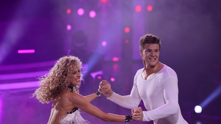 "Simon Zachenhuber und Patricija Belousova bei ""Let's Dance"""