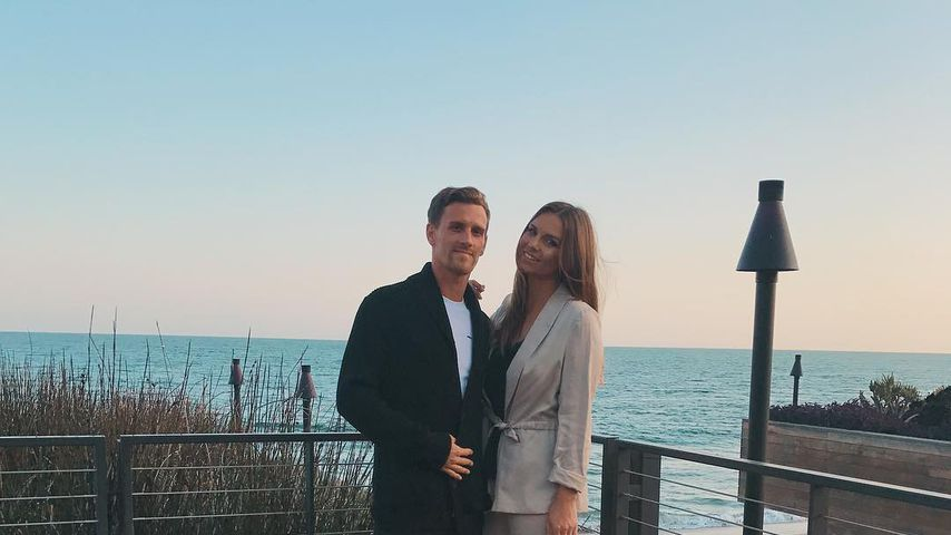 Simon Zoller und Laura Wontorra in Malibu