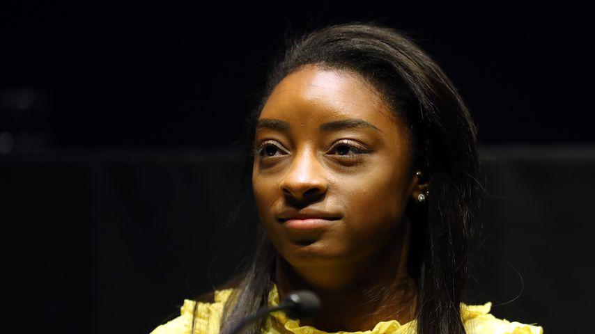 Simone Biles im März 2019