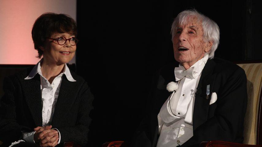 Simone Rethel und Johannes Heesters 2010 in Erfurt