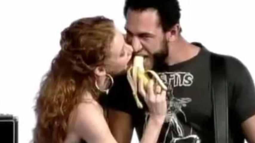 Sina-Valeska Jung und Evil Jared Hasselhoff