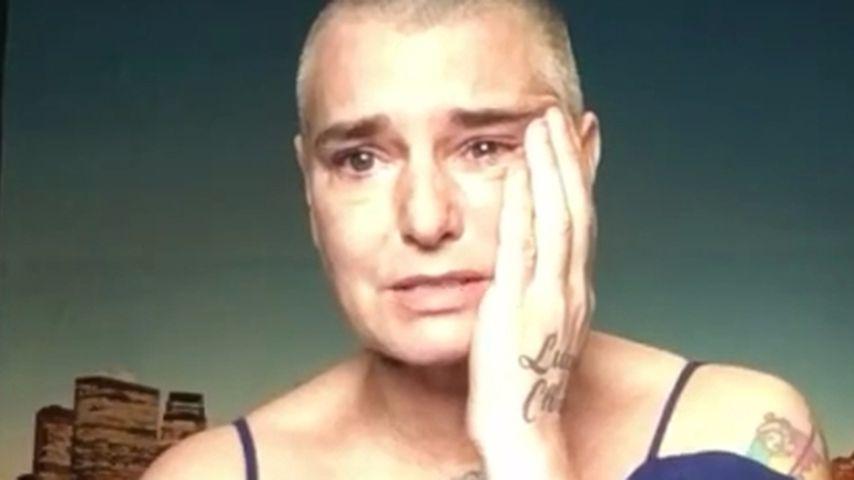 Völlig am Boden: Sinéad O'Connor postet schlimmes Heul-Video