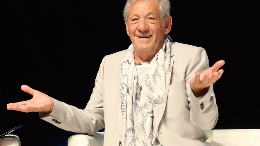 Sir Ian McKellen in Cannes 2017