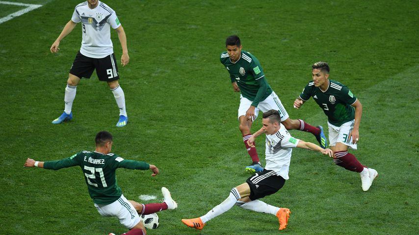 Situation im Spiel Deutschland gegen Mexiko bei der WM 2018