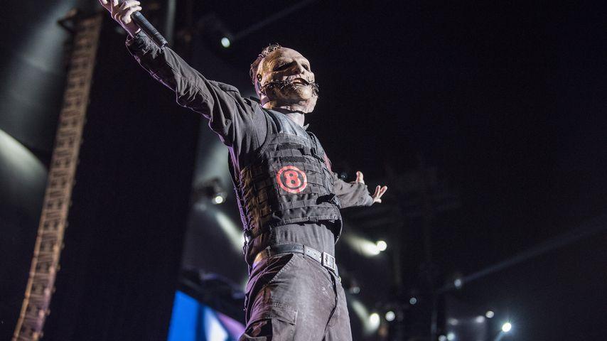 Slipknot-Sänger Corey Taylor bei Rock in Rio 2015