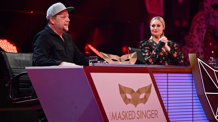 """Smudo und Ruth Moschner bei """"The Masked Singer"""" 2021"""